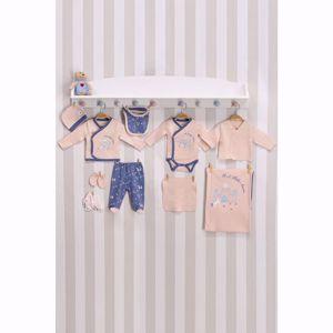 Resim U.S. Polo Assn. Lisanslı Somon Bebek 10'Lu Hastane Çıkış Seti